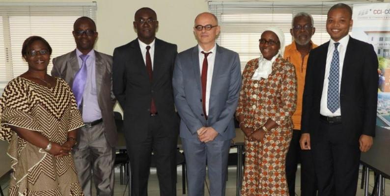 Formation: La CCI-CI reçoit le recteur de l'université Senghor d'Alexandrie